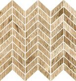 Blendwood Mosaico Chevron Beige Nt Rt 35x37