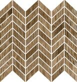 Blendwood Mosaico Chevron Brown Nt Rt 35x37