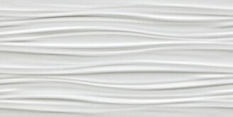 3D Ribbon White Matt 40x80