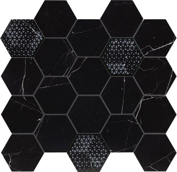 340X360 HEXAGON ROYAL NERO LEV