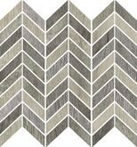 Blendwood Mosaico Chevron Multigrey Nt Rt 35x37