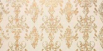 Ewall White Gold Damask